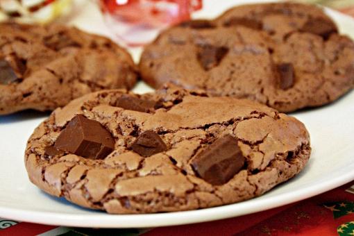 Шоколадное печенье с кусочками шоколада рецепт пошагово