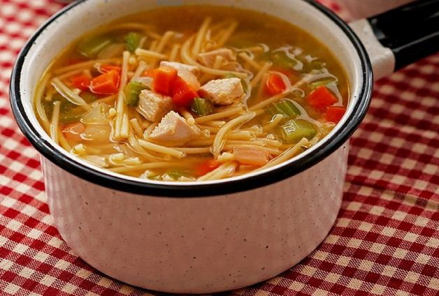 как правильно приготовить куриный суп