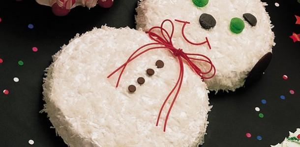 Как сделать новогоднюю торту
