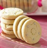 новогоднее печенье со звездами